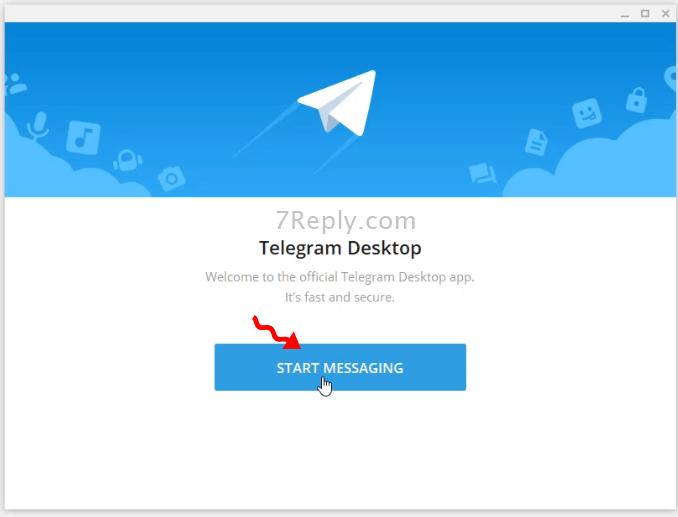 روش نصب تلگرام در ویندوز 10