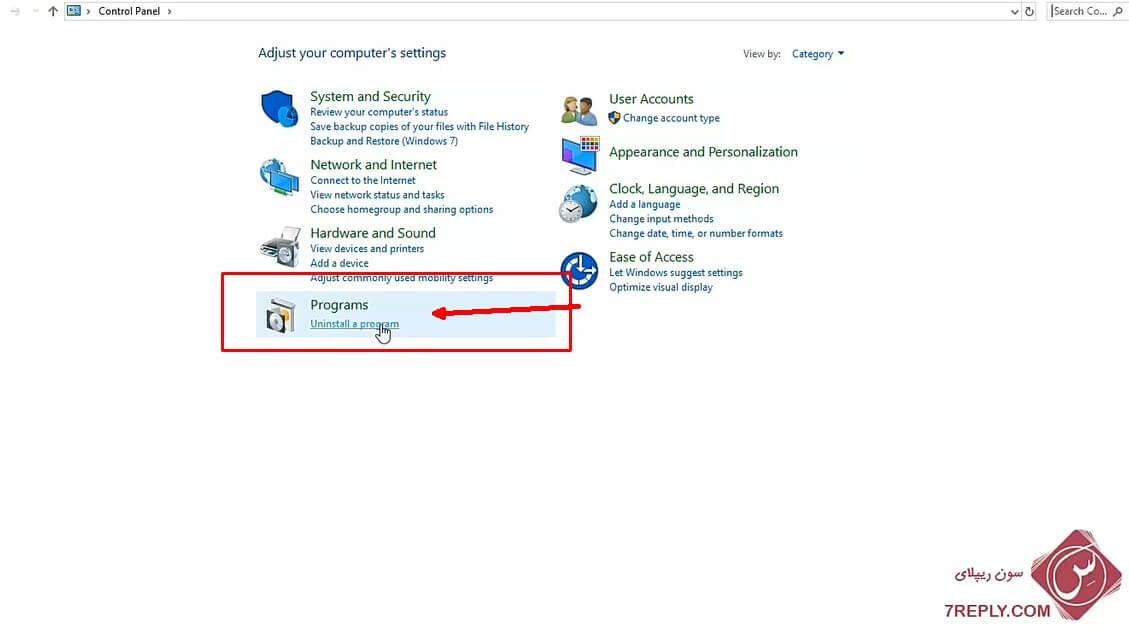 حذف کامل برنامه در ویندوز 10