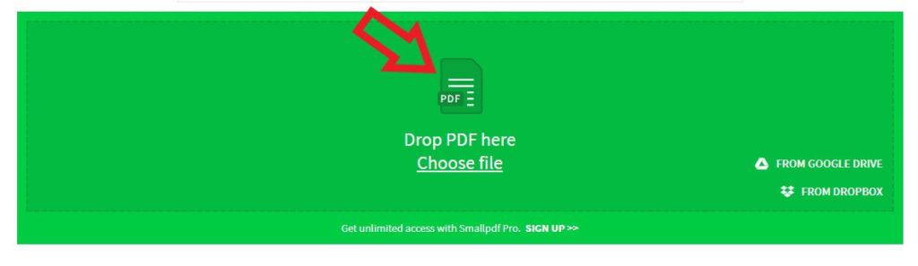 تبدیل آنلاین اکسل به pdf