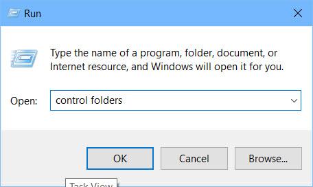 نمایش فرمت فایل ها در ویندوز