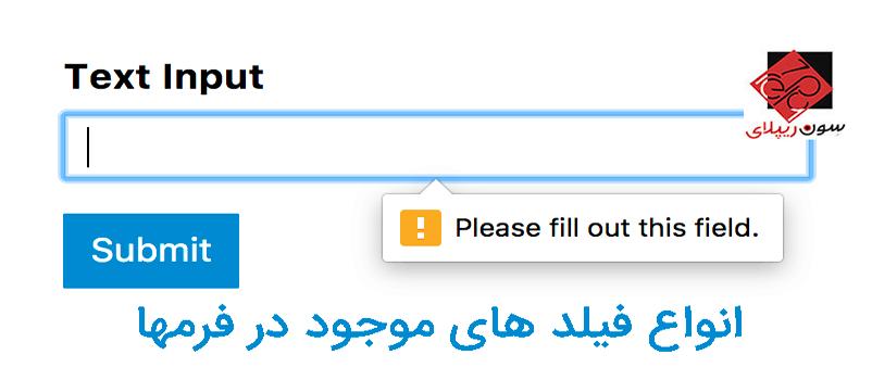 فرم ها یا Forms در html