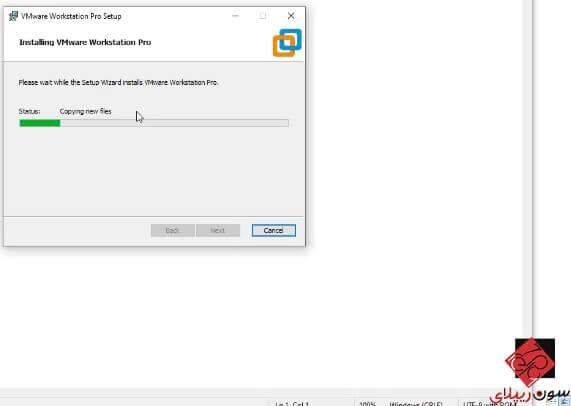 نصب ماشین مجازی در Vmware Workstation 16